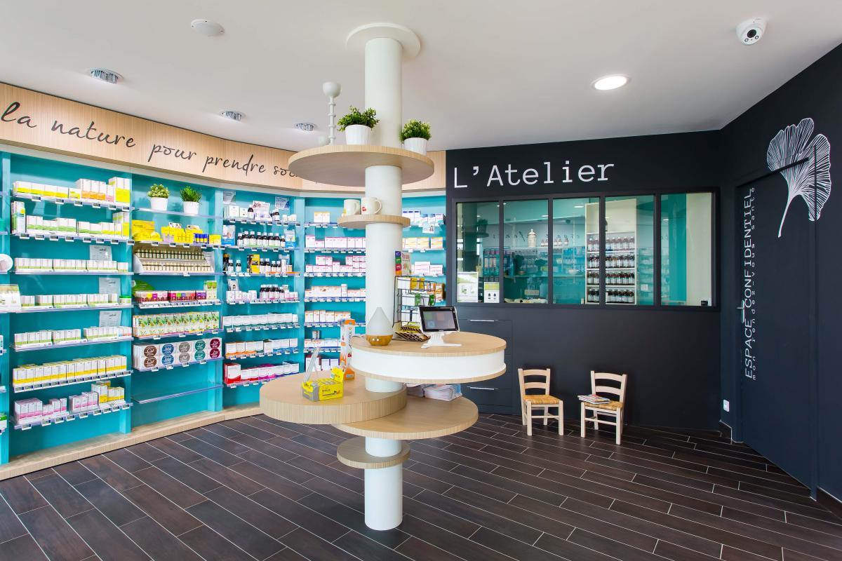 Ilot Central Cuisson Et Repas ~ Pharmacie Essentielle Cap Agencement