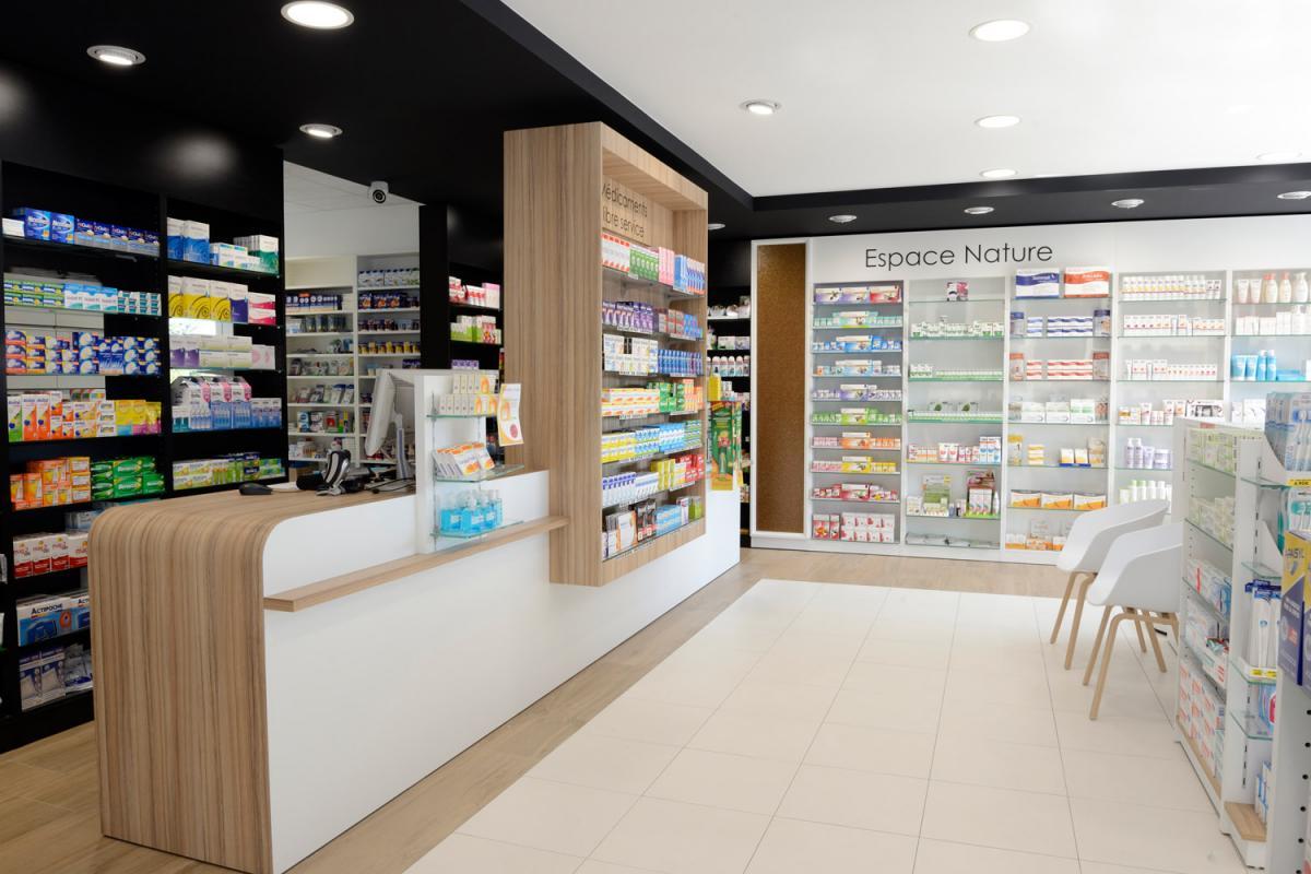Pharmacie guiot cap agencement - Comptoir des bois de brive ...